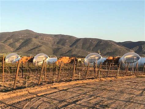 Conoce el hotel burbuja de el Valle de Guadalupe – Veraz ...