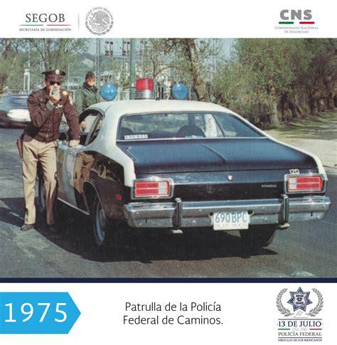 Conoce en imágenes la historia de la Policía Federal de ...