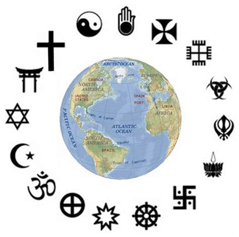 Conoce las principales religiones del mundo