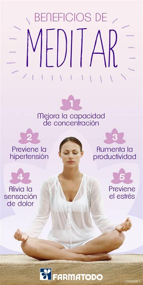 Conoce los beneficios de meditar #Salud | SALUD Y ...