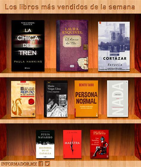 Conoce los libros más vendidos de la semana :: El Informador