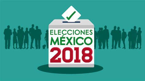 Conoce los resultados de las elecciones 2018 por internet