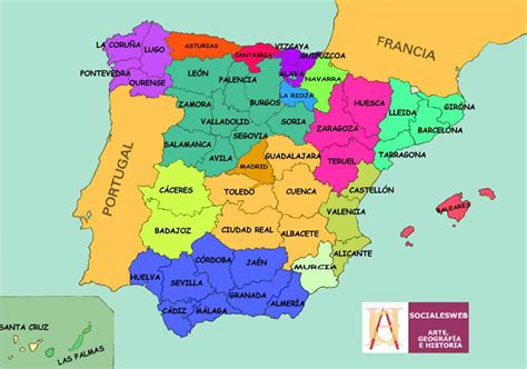 conocer la geografia de espana por medio de mapas ...