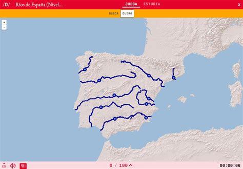 ¿Conoces los principales ríos de España?   Mapas ...