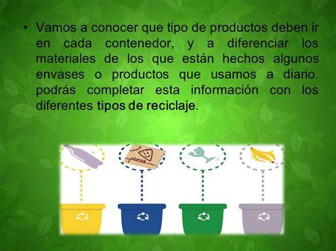 Conociendo los colores del reciclaje   ppt video online ...