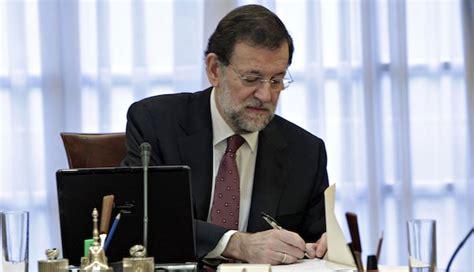 Conozca el sueldo de Mariano Rajoy y del resto de altos ...