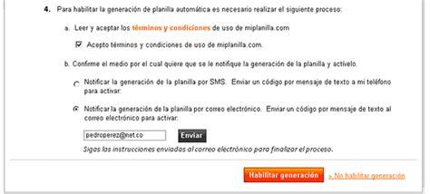 Conozca la nueva funcionalidad de miplanilla.com