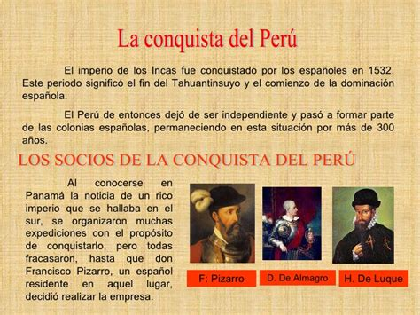 Conquista Del Perú