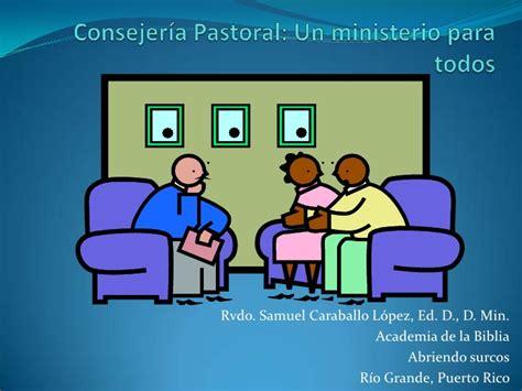 Consejería Pastoral: Un modelo de intervención