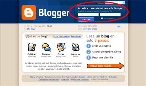 Consejos Blogger: Cómo entrar al panel de control de blogger