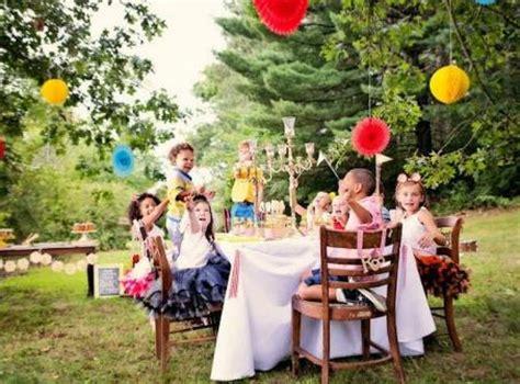 Consejos para celebrar un cumpleaños al aire libre