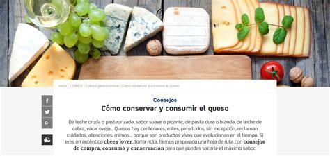 consejos queso guia repsol   Queso y Recetas La Pasiega