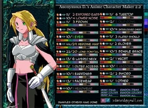 Consejos, Trucos y más: Crea tu personaje o avatar anime