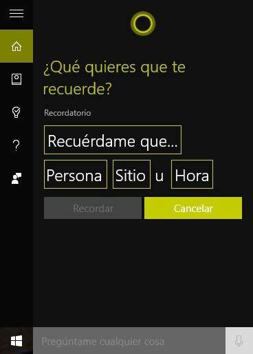 Consejos y trucos para Cortana en Windows 10