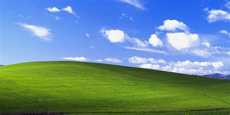 Consigue el fondo de pantalla de Windows XP en 4K