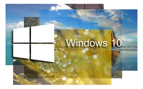 Consigue todos los fondos de pantalla de Windows 10