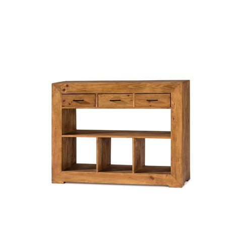 Consola - MYOC. Muebles rústicos 100% madera maciza en ...