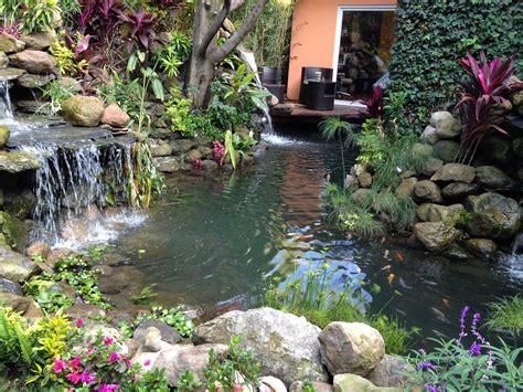 Construcción de estanques de jardín para peces koi ...