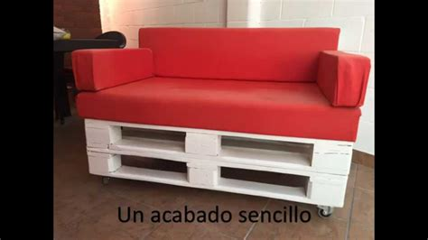 Construir sillón de palets - YouTube
