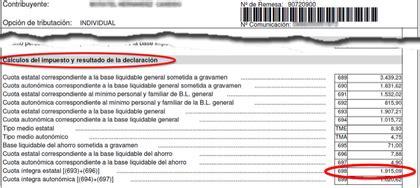 Consulta datos fiscales con casilla 698 - Rankia