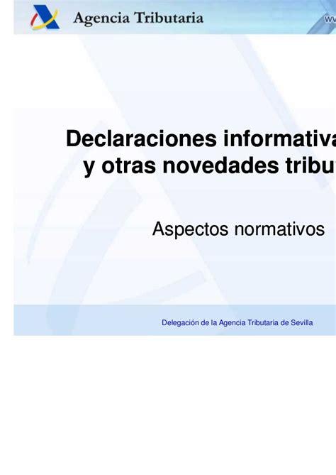 Consulta De Declaraciones Agencia Tributaria ...