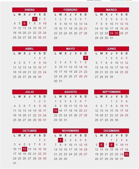 Consulta el Calendario Laboral 2016: Semana Santa, puentes ...
