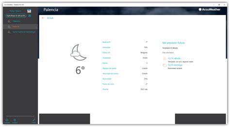 Consulta la previsión meteorológica con AccuWeather para ...