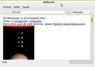 Consulta Wikipedia, RAE, WordReference con un click