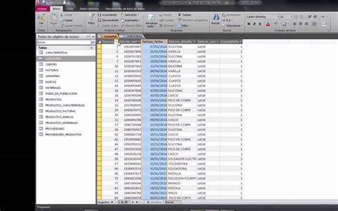 Consultas en Access en una Base de Datos de una Ferretería ...