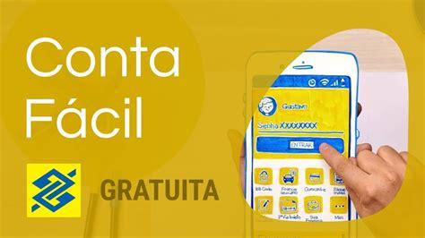 Conta Fácil   Banco do Brasil   Conta Corrente Gratuita ...