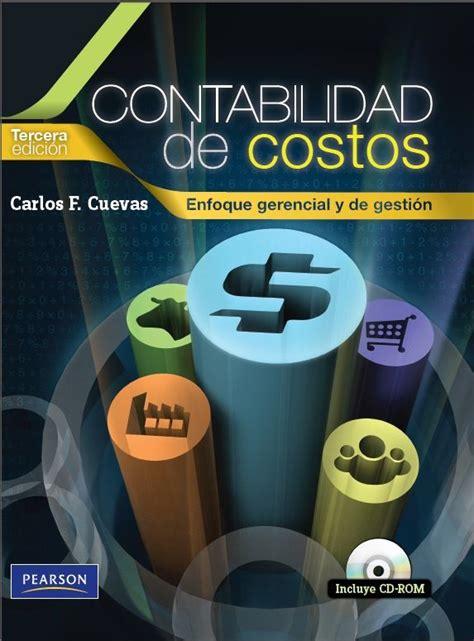 Contabilidad de Costos - Carlos Cuevas - PDF - Español ...