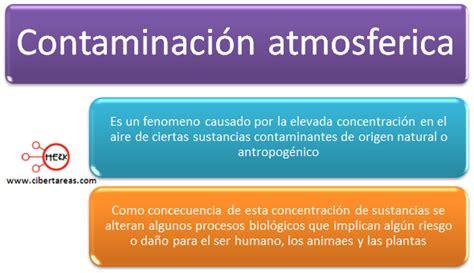 Contaminación atmosférica – Ética y valores 2 | CiberTareas