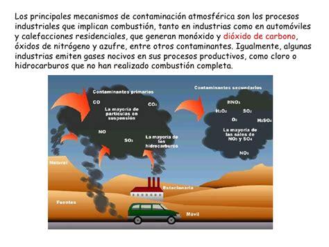 Contaminacion atmosférica y cambio climático