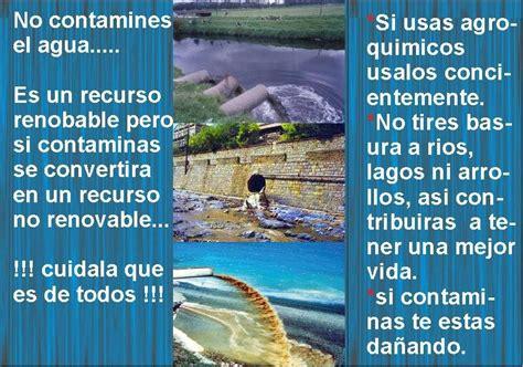 Contaminacion del agua: Folleto de la Contaminación del Agua
