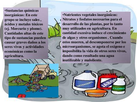 Contaminacion del agua y el aire