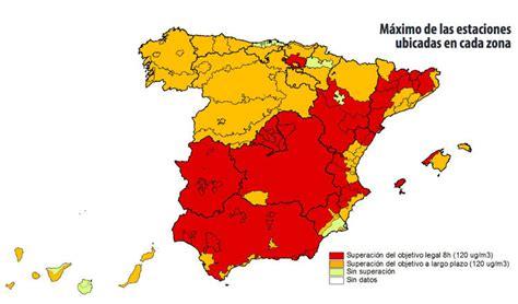 Contaminación por ozono en España, cómo nos afecta ...