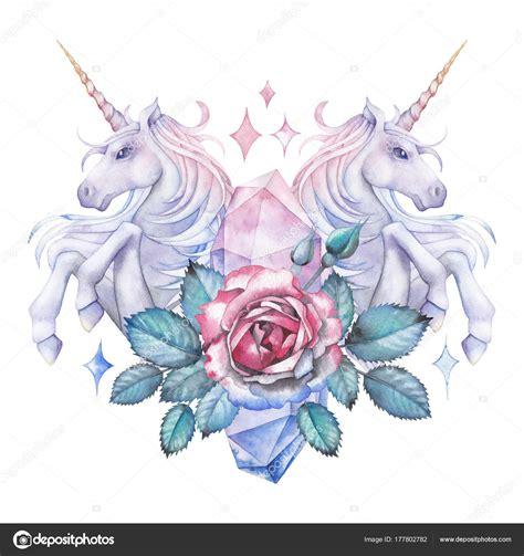 Contemporáneo Hoja De Color Unicornio Patrón - Enmarcado ...