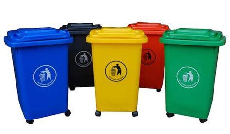 Contenedor de basura 50 Litros con rueda   Saveline