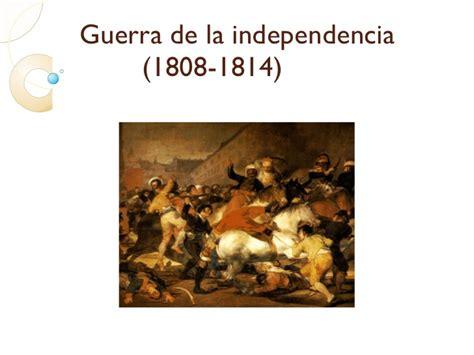 Contexto guerra de la independencia(1808 14)