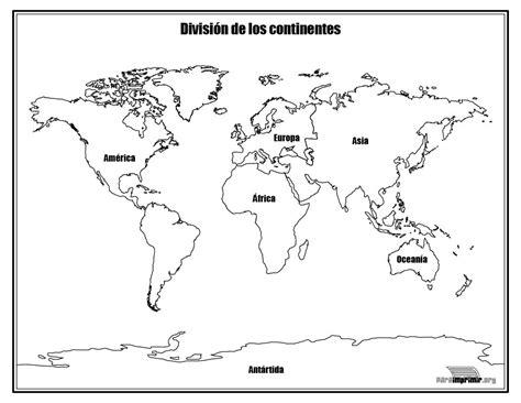Continentes del mundo para colorear   Imagui