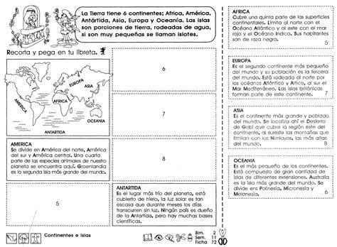 Continentes e islas: 5to grado   Material de Aprendizaje