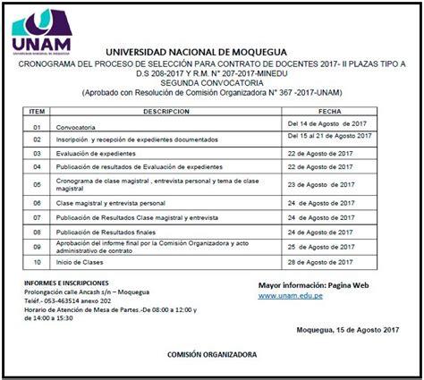 Contrato De Docente Moquegua 2017 | Download PDF