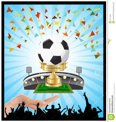 Control Del Campeonato De La Taza Del Fútbol Del Ganador ...