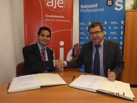 Convenio de Colaboración con SABADELLCAM   Guadalentín ...
