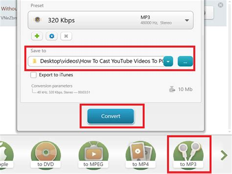 Convert YouTube to MP3 using this free software or online ...