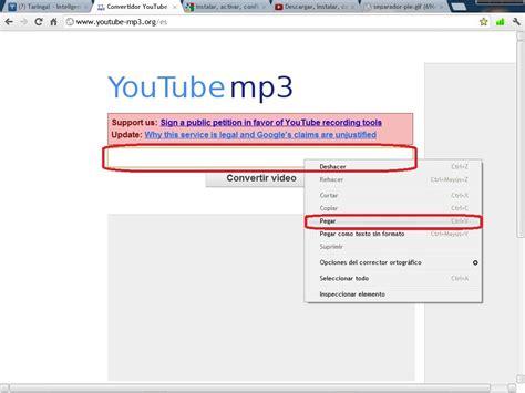 Convertir Cualquier Video De Youtube a Formato MP3   Hazlo ...