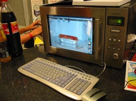 Convierte tu microondas en un PC   No Puedo Creer