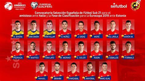 Convocatoria selección española sub21: Ceballos y Borja ...