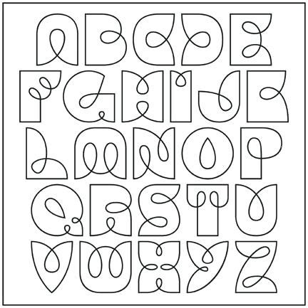 Cool Alphabet Fonts To Draw | www.pixshark.com - Images ...
