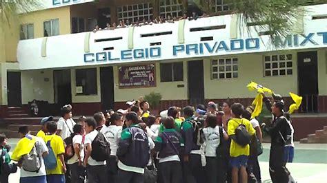 Copa Coca cola 2,011 Entrada al Colegio Ave María ...